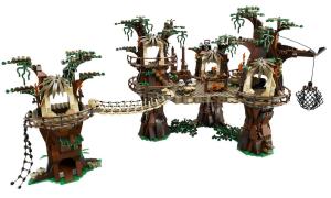 Das Ewok Dorf aus LEGO