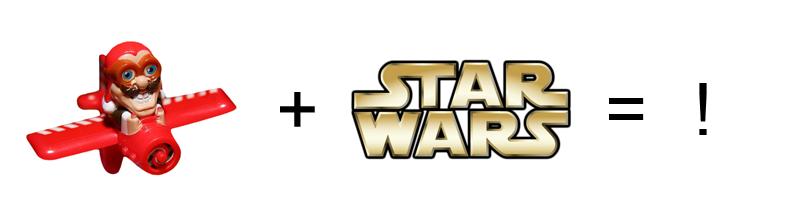 Looping Louie plus Star Wars ist gleich Ausrufezeichen: Looping Chewie