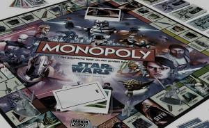 Star Wars Monopoly Brettspiel