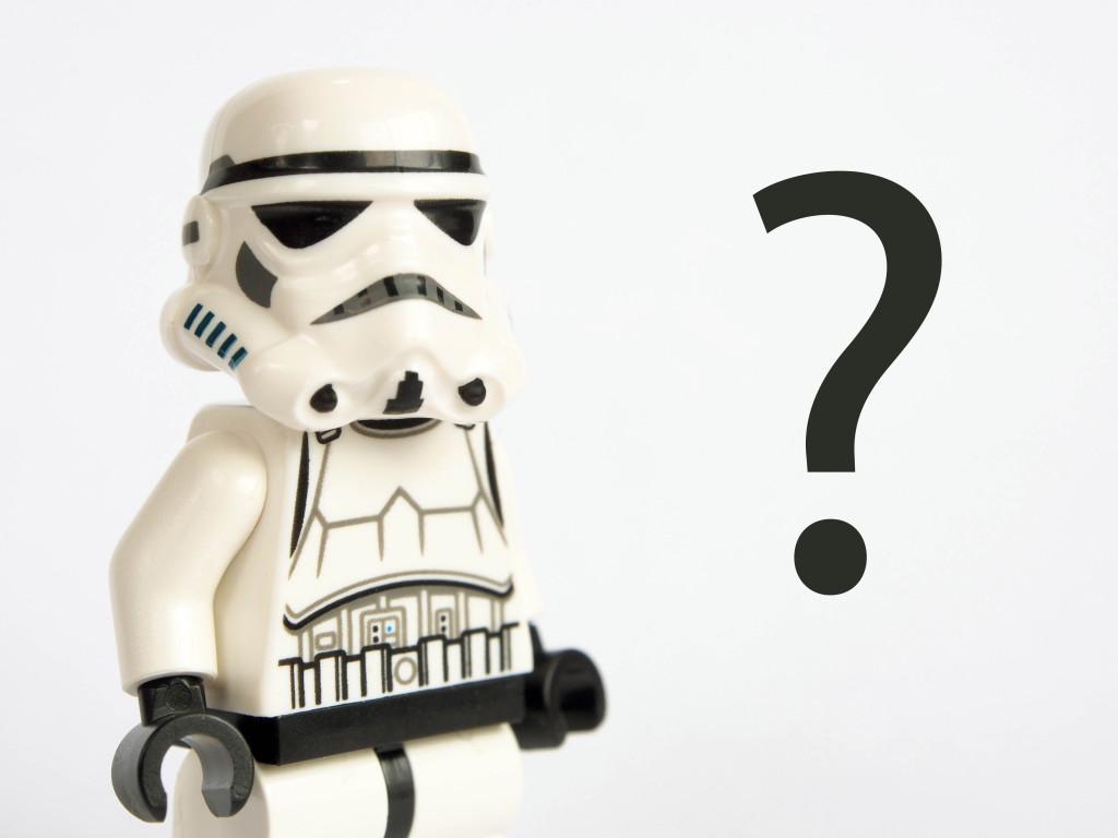 Ahnungsloser Stormtrooper –was schenkt man dem Freund?