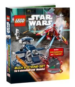 LEGO Buch und Steine von Star Wars