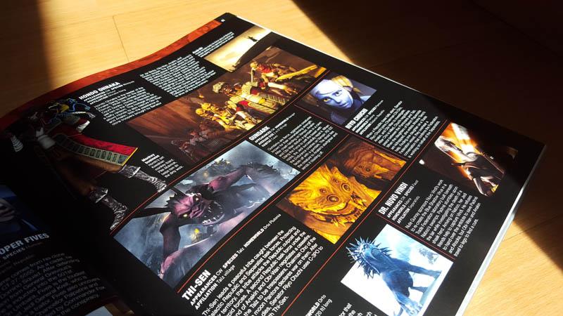 Eine Seite aus dem Star Wars Lexikon