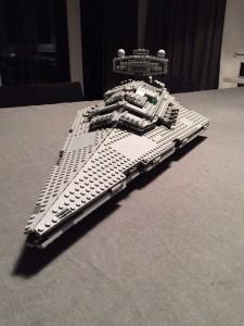 Der normale Sternenzerstörer von LEGO