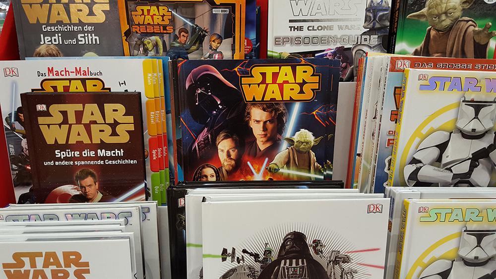 Star Wars Bücher als Geschenk