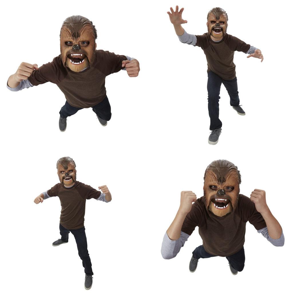 Chewbacca Maske, Bilder von Amazon.de