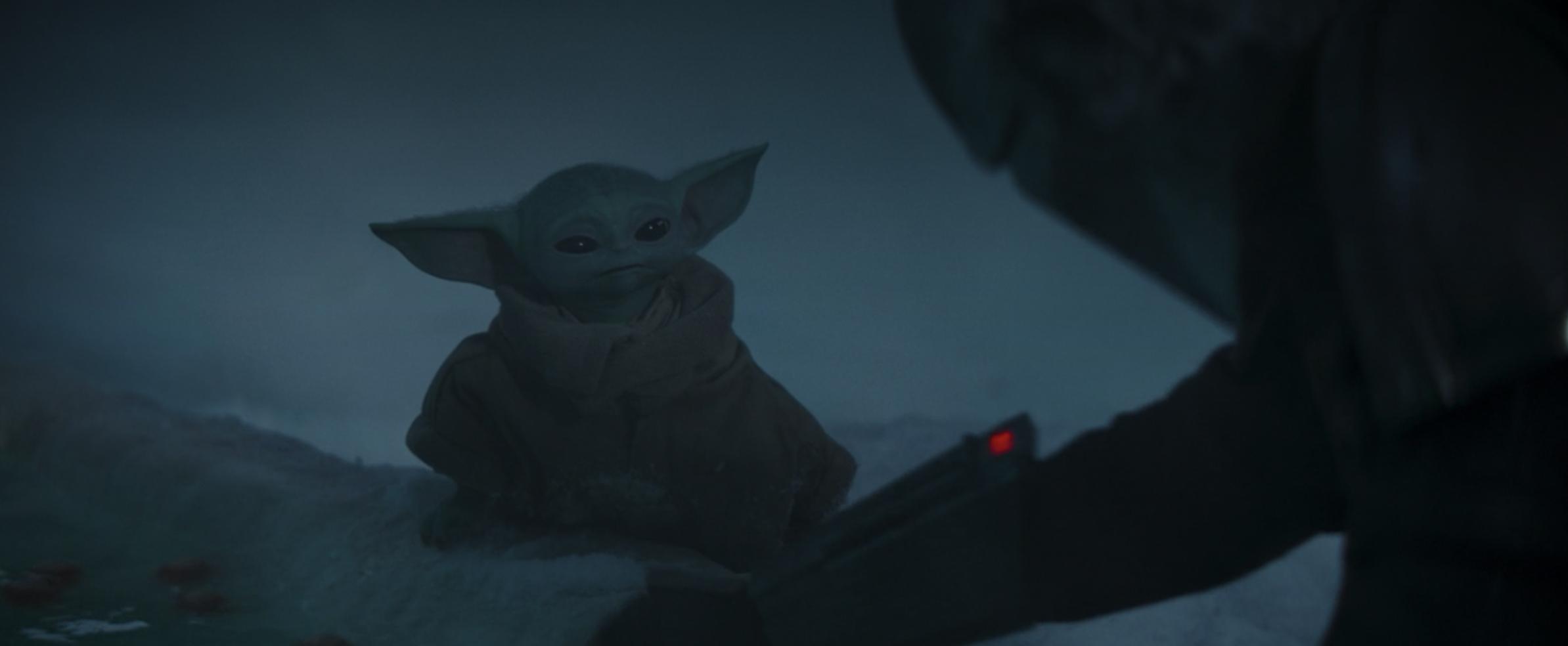 Das Kind (Baby Yoda) aus Mandalorian als Geschenk